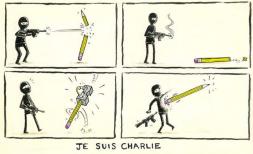 Charlie Hebdomadaire JeSuisCharlie Cartoon