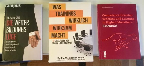 Fachbuch Essentials neben Axel Koch und Ina Weinbauer Transferwirksamkeit